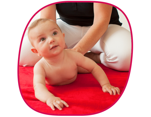 Babymassage Krankengymnastik Kurs Physiotherapie in Berlin Zehlendorf Schlachtensee